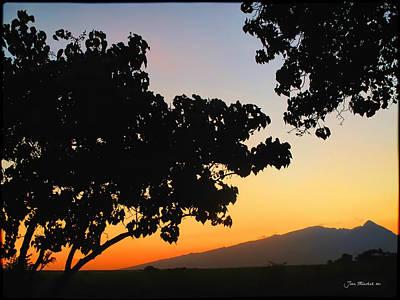 Photograph - Maui Road Sunset by Joan  Minchak