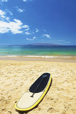 Stand Up Paddle Board Photograph - Maui Stund Up Paddle Board by Kicka Witte