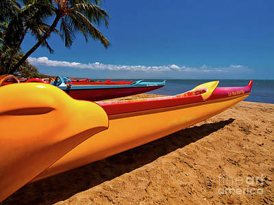 Photograph -  Maui Sugar Beach  by Tom Jelen