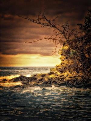 Photograph - Maui Sunset  ... by Chuck Caramella