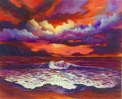 Painting - Maui Sunset 2 by Darice Machel McGuire