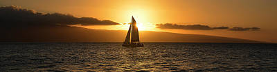 Photograph - Maui Sunset by Jerry Kalman