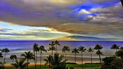 Photograph - Maui Sunset At Hyatt Residence Club by Richard Yates