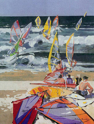 Maui Surf 2 Art Print