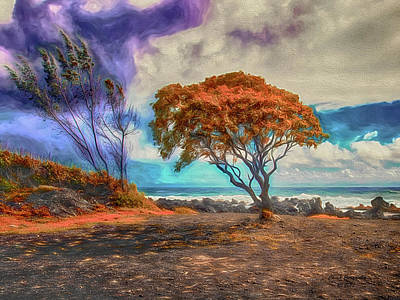 Photograph - Maui Trees ... by Chuck Caramella