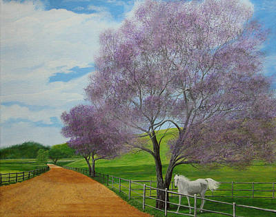 Painting - Maui Upcountry by Jeffrey Oldham