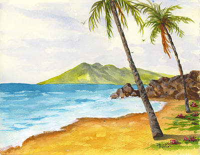 Painting - Maui View by Darice Machel McGuire