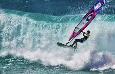 Photograph - Maui Windsurfing Pro by Waterdancer