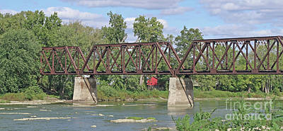 Photograph - Maumee River Crossing by Ann Horn