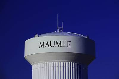 Photograph - Maumee Water Tower II by Michiale Schneider
