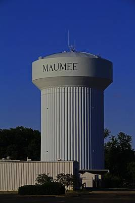 Photograph - Maumee Water Tower IIi by Michiale Schneider