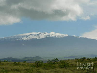 Mauna Kea Art Print by Don Lindemann