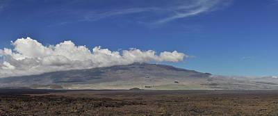 Photograph - Mauna Kea From Mauna Loa 2 by Jason Chu