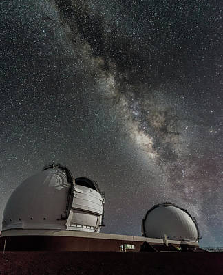Photograph - Mauna Kea Night by Allen Biedrzycki