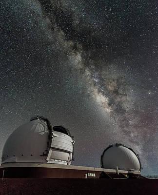 Photograph - Mauna Kea Night by Allen Biedrzycki