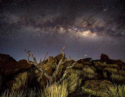 Mauna Kea Night Sky Art Print