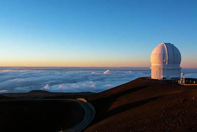 Keck Photograph - Mauna Kea Observatory by Joe Belanger