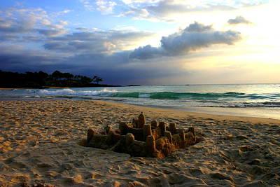 Mauna Kea Digital Art - Mauna Kea Sandcastle by Kimberly Klein