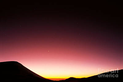 Mauna Kea, Summit Art Print by Mary Van de Ven - Printscapes