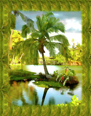 Photograph - Mauna Lani Palm I by Kurt Van Wagner