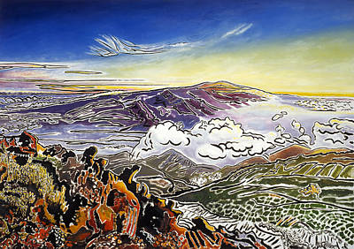 Altitude Painting - Mauna Loa by Fay Biegun - Printscapes