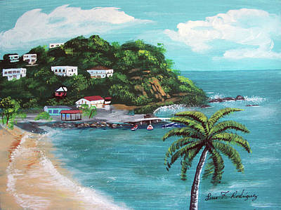 Maunabo Puerto Rico Art Print by Luis F Rodriguez