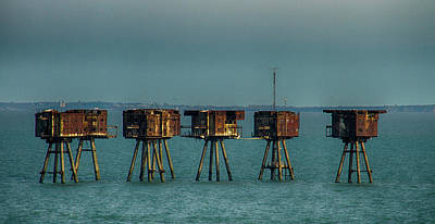 Photograph - Maunsell Forts Thames by David French