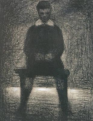 Maurice Appert Seated Art Print