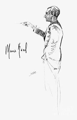 Autographed Photograph - Maurice Joseph Ravel by Granger