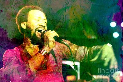 Rhythm And Blues Digital Art - Maurice by Pd