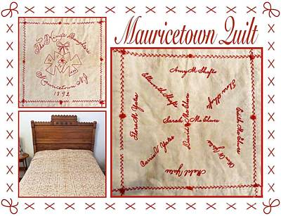 Photograph - Mauricetown Quilt by Nancy Patterson