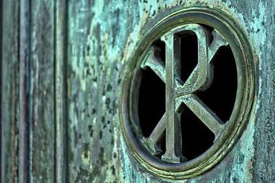 Photograph - Mausoleum Door Details - Buenos Aires by Stuart Litoff