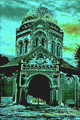 Photograph - Mausoleum by Elizabeth Hoskinson
