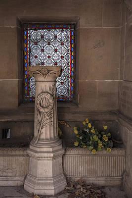Pere La Chaise Photograph - Mausoleum Interior by Michael Riley