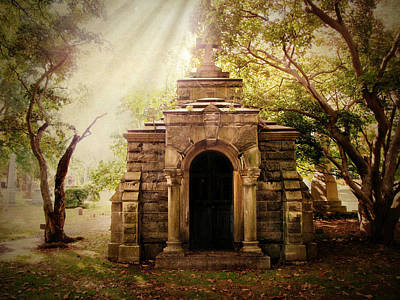 Photograph - Mausoleum  by Jessica Jenney