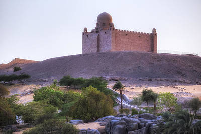 Islam Photograph - Mausoleum Of Aga Khan - Egypt by Joana Kruse