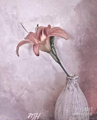 Mauve Lily Original