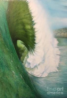 Painting - Mavericks by Pete Sintes