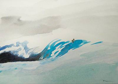 Painting - Mavericks by Ed Heaton