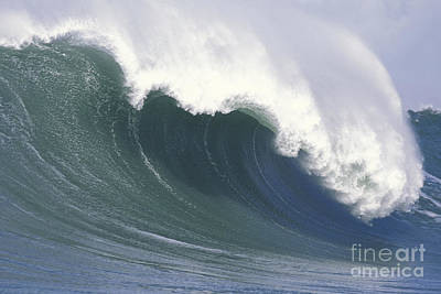 Photograph - Mavericks Empty Wave by Stan and Anne Foster