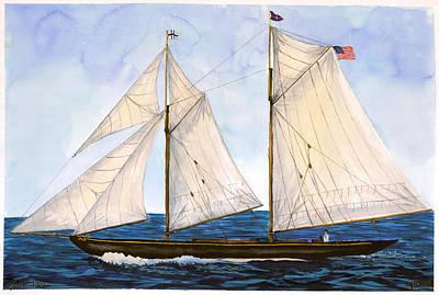 Mavis 1901 Art Print