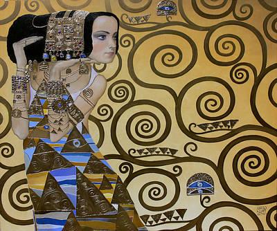 Mavlo - Klimt Print by Valeriy Mavlo