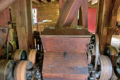 Photograph - Mawhood Roller Mill by Steve Stuller