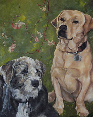 Painting - Max And Molly by Stephanie Broker