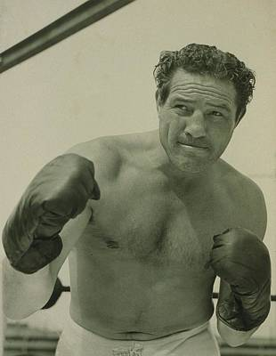 Max Baer 1909-1959, One-time Art Print by Everett