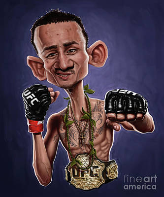 Digital Art - Max Holloway by Andre Koekemoer