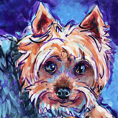 Painting - Max by Judy Rogan