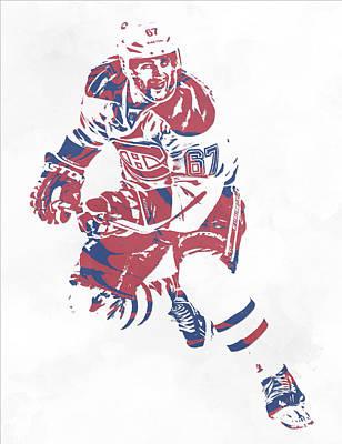 Mixed Media - Max Pacioretty Montreal Canadiens Pixel Art 4 by Joe Hamilton