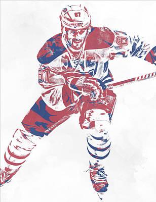 Mixed Media - Max Pacioretty Montreal Canadiens Pixel Art 5 by Joe Hamilton