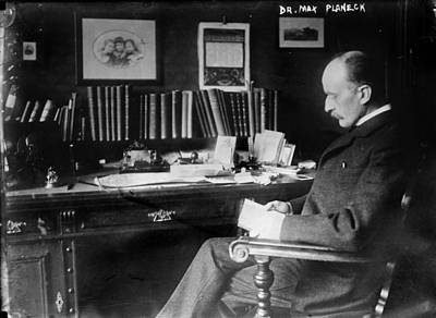 1930s Candid Photograph - Max Planck 1858-1947, German Physicist by Everett
